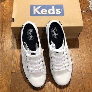 NWT Keds | Coursa White Sneakers - Brand New